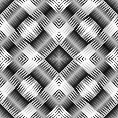 rug texture: Ethnic Tribal Aztec Seamless Pattern. Geometric Ornamental illustration. Black and White Stylish Texture