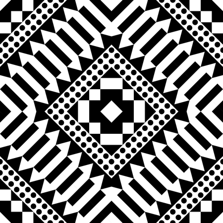 rug texture: Ethnic Tribal Aztec Seamless Pattern. Geometric Ornamental illustration. Decorative Stylish Texture