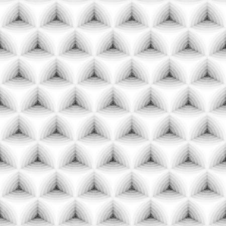 regular: Seamless Monochrome Pattern. Grungy Geometric Shapes Tiling. Abstract Stylish Background