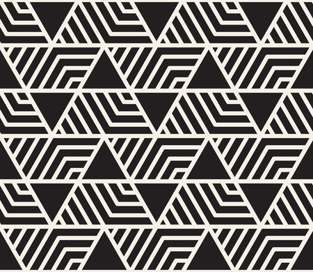 seamless geometric pattern. Simple abstract lines lattice. Repeating elements stylish background tiling