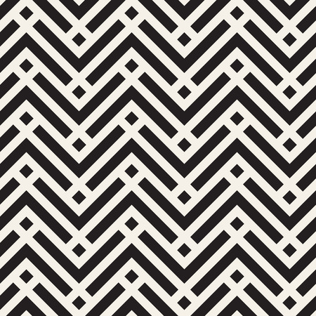 Vector seamless geometric pattern. Simple abstract lines lattice. Repeating elements stylish background tiling