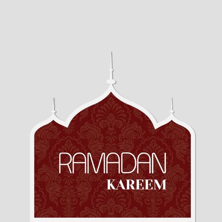 Ramadan Kareem Design Background. Vector Illustration for poster, greeting card and banner.