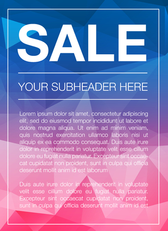 cian: Super Sale Special Offer web banner template on yellow background