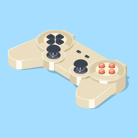 old pc: Video game gamepad controller