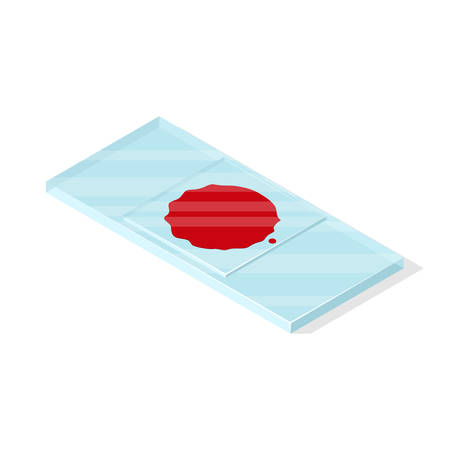 Isolated on white background isometric vector illustration