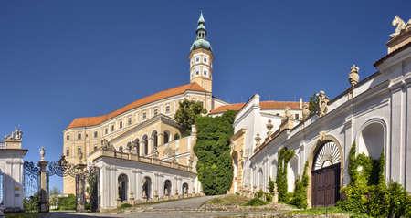 ミクロフ城、モラビア南部チェコ共和国