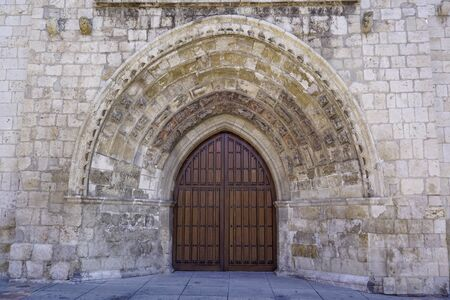 Catholic Church of San Miguel in Palencia Spain