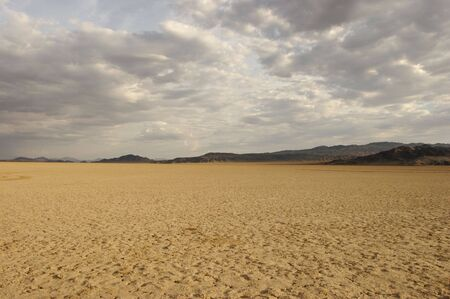 expansive: An expansive dry lakebed