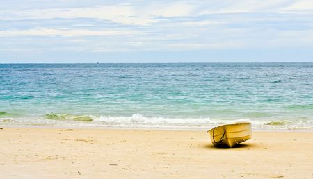 Rowboat on beach Stock Photo - 7175366