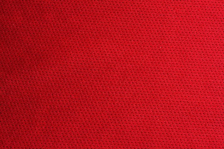 Red sport fabric texture
