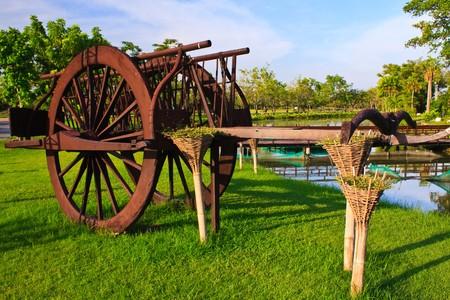 Thai style cart Stock Photo - 7350136