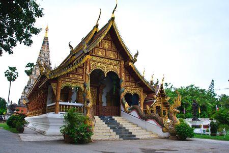Temple in Vieng KuKam, Vhiang Mai photo