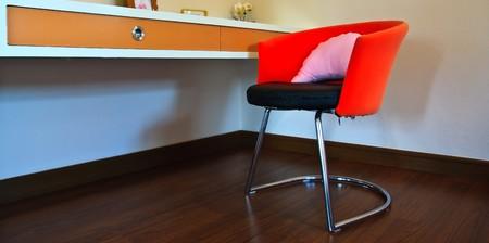 Oragne chair photo