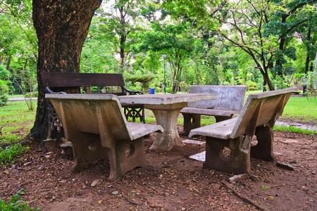 rest table set photo