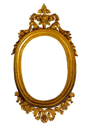 Golden Thai style frame Stock Photo - 8072249