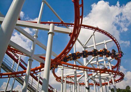 Roller coaster 写真素材