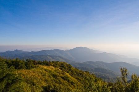 Fog on mountain Stock Photo - 8558267