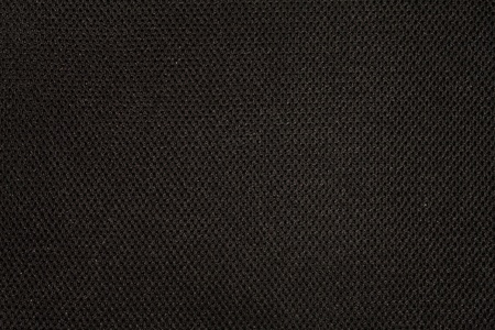 Black fabric texture with pattern photo