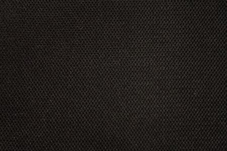 Black fabric texture with pattern Foto de archivo