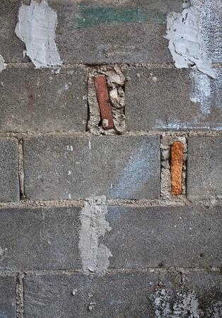 Brick blocks wall Stock Photo - 8790264
