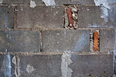 Brick blocks wall Stock Photo - 8790263