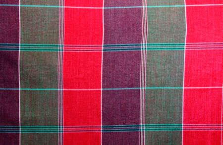 Thai square pattern Sarong texture close up Stock Photo - 8897198