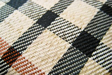 flannel: Table style flannel texture with white black an orange color