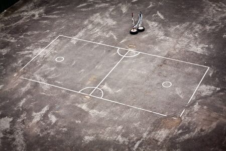 Useful sports field can be play many kinds of sports photo