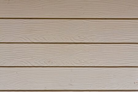 cladding: Striped wood wall pattern in row Stock Photo