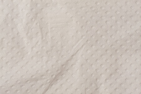 White tissue paper texture with pattern background close up Imagens