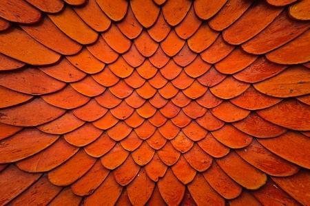 Grunge tile roof texture pattern close up blast out background Foto de archivo