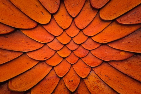 Grunge tile roof texture pattern very close up blast out background photo