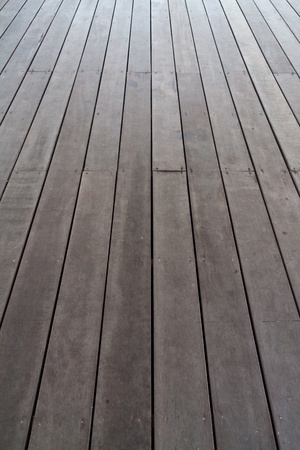 Floor made by plank wood perspective vertical Stock Photo - 12353133