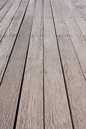 Floor made by plank wood perspective vertical Stock Photo - 12353136