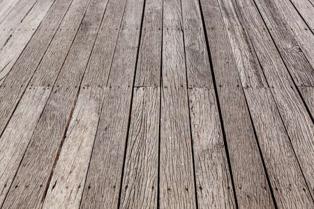 Perspective brown wood floor striped seamless Stock Photo - 21073197