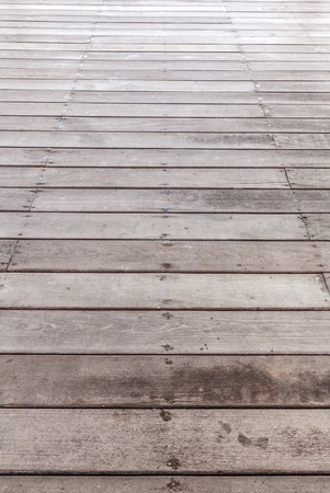 Perspective brown wood floor striped seamless Stock Photo - 21073204