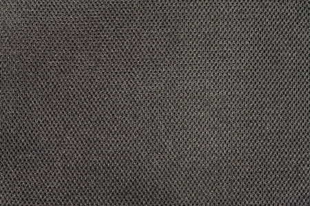 Black cotton fabric texture surface seamless background photo