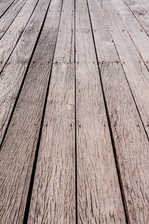 Perspective brown striped pattern wood floor texture background Stock Photo - 21882517