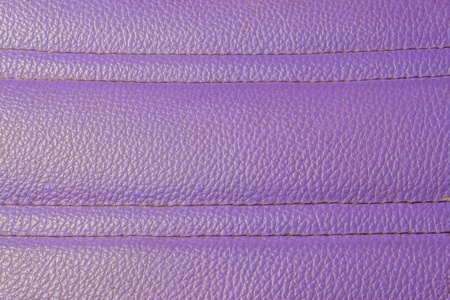 Old purple leather striped pattern texture from sofa photo