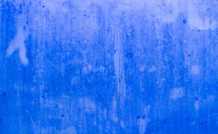 Dirty blue metal plate surface texture background photo