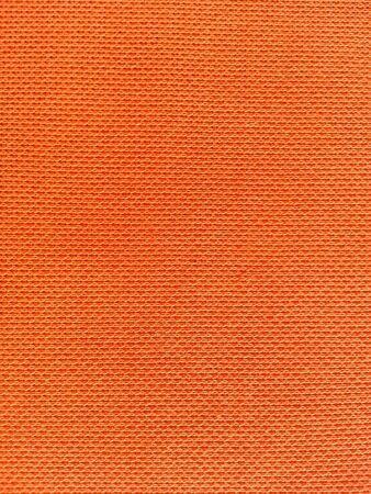 fabric: Orange fabric texture