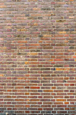 Old brown brick wall surface texture background