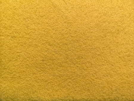 Yellow soft microfiber fabric surface texture background 写真素材