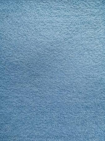 Blue soft microfiber fabric surface texture background Banque d'images