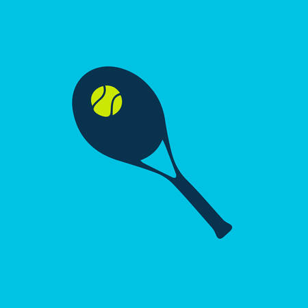 wimbledon: tennis racket and ball
