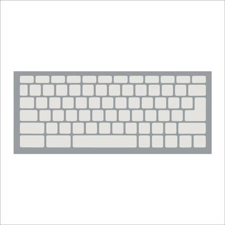 keyboard: keyboard vector Illustration