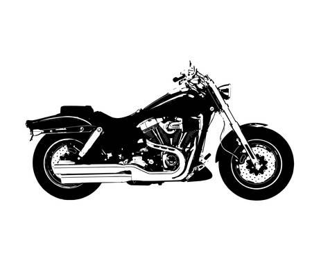 motocycle: motorcycle icon vector