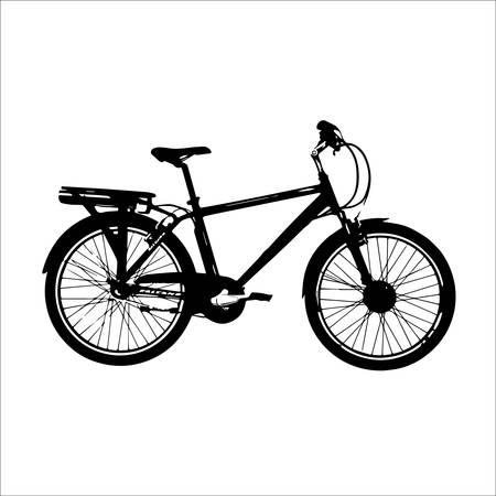 bicicleta vector: vector de moto Vectores