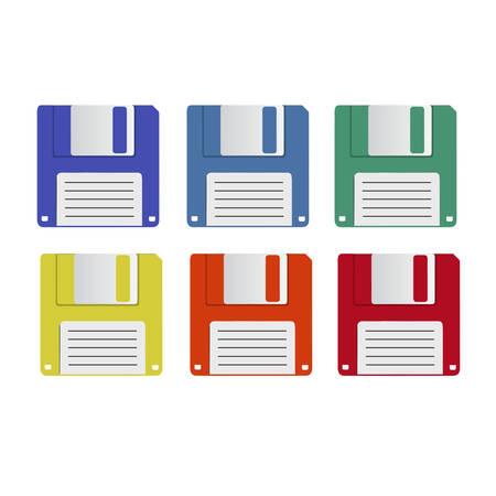 floppy disk: floppy disk vector Illustration