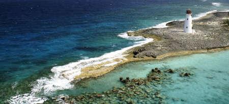 lighthouse on point of paradise island bahamas
